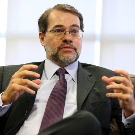 O presidente do TSE, ministro Dias Toffoli Foto: Ailton de Freitas / Agência O Globo