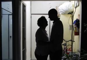 Dependentes quimicos internados em clínica Foto: Marcos Alves / Agência O Globo