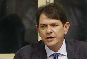 O ministro da Educação, Cid Gomes Foto: Marcos Alves/08-05-2013 / O Globo