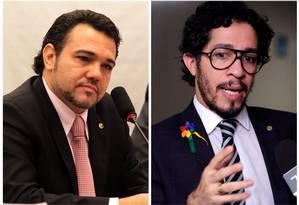 deputado pastor Marco Feliciano (PSC-SP); e deputado defensor da causa LGBT, Jean Wyllys (PSOL-RJ) Foto: O Globo