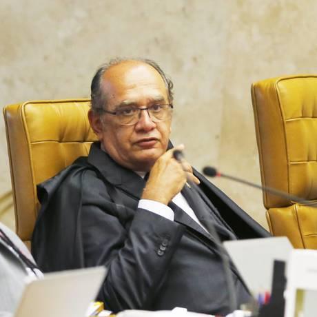 O ministro do STF, Gilmar Mendes Foto: Jorge William / Agência O Globo