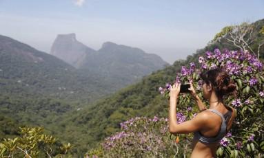 O passeio é um convite natural para quem gosta de registrar belas imagens Foto: Felipe Hanower / Agência O Globo