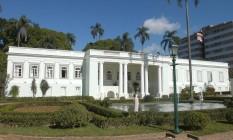 Do comendador. Casarão neoclássico, construído em 1875: de tão belo, imóvel rendeu título ao proprietário Foto: DIVULGAÇÃO