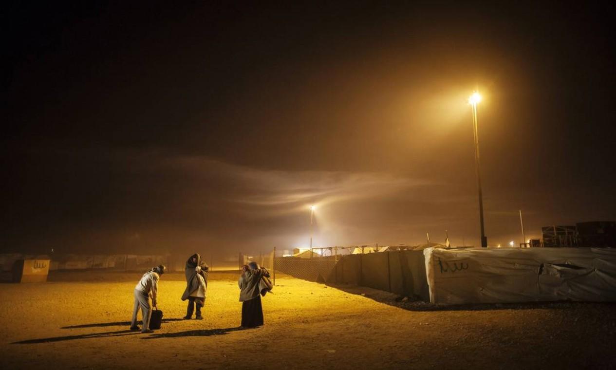 O Acnur acompanhou deslocados da guerra na Síria. Um dos campos, Za'tarai (Jordânia), abriga 31 mil Foto: Brian Sokol / UNHCR