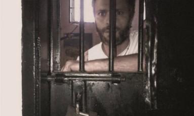 O opositor Leopoldo López, na penitenciária de Ramo Verde Foto: El Nacional/GDA