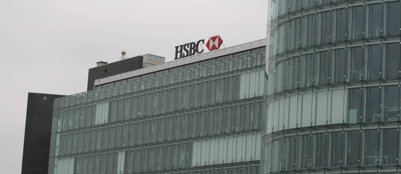 A sede do banco HSBC na Suíça Foto: CITIZENSIDE/RÉMY GENOUD / Agência O Globo