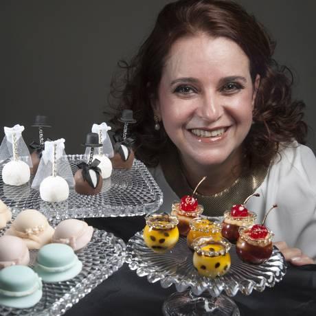 Louzier pensa no sabor mas foca na riqueza de detalhes Foto: Adriana Lorete / O Globo