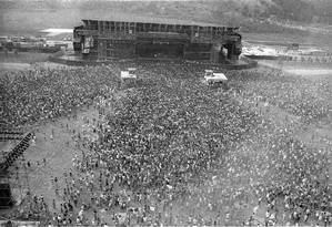 Rock in Rio em 1985 Foto: Arquivo O Globo / Sebastião Marinho / 13-01-1985