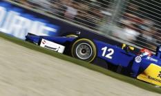 O Sauber número 12 de Felipe Nasr, que chegou em 5º no GP da Austrália e obteve o melhor resultado de um brasileiro na estreia na Fóirmula-1 Foto: BRANDON MALONE / REUTERS