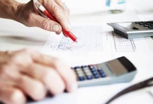O cálculo do PIB é o que apresenta maior complexidade para institutos de pesquisa Foto: Bloomberg News