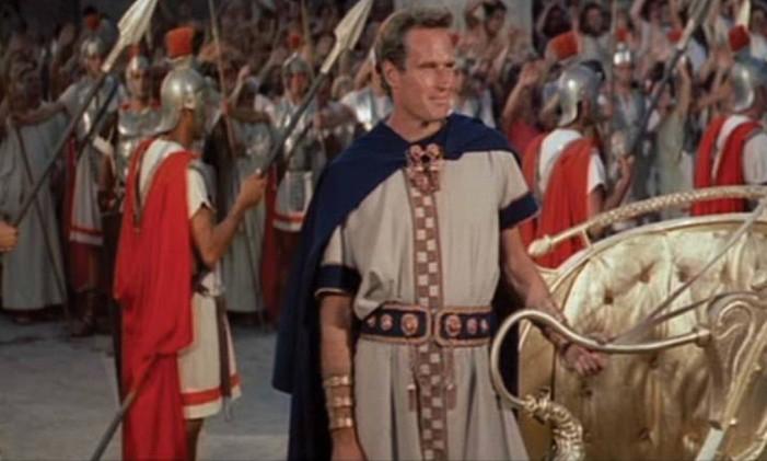 O filme de 1959 levou 11 estatuetas para a casa, do total de doze indicações. A obra de William Wyler venceu nas categorias de melhor filme, diretor, ator, ator coadjuvante, direção de arte, som, trilha sonora, fotografia, efeitos especiais, figurino e montagem. Foto: Reprodução