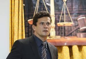Juiz Federal Sergio Fernando Moro Foto: Marcos Tristão / O Globo