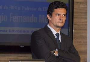 O juiz federal Sérgio Moro Foto: Paulo Lisboa/Brazil Photo Press / Agência O Globo