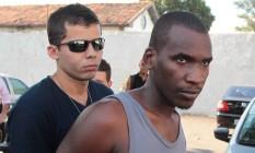 Saílson foi preso por policiais da Divisão de Homicídios e depois levado para o Complexo Penitenciário de Gericinó, em Bangu Foto: Cléber Júnior / Agência O Globo - 12/12/2014