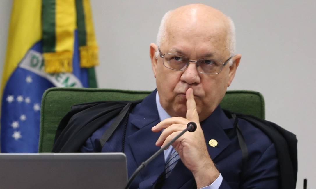 Teori Zavascki, relator dos processos da Operação Lava-Jato no STF Foto: André Coelho/10-02-2015 / Agência O Globo