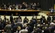 Sessão Congresso durante votação do o projeto de Lei Diretrizes Orçamentárias de 2015