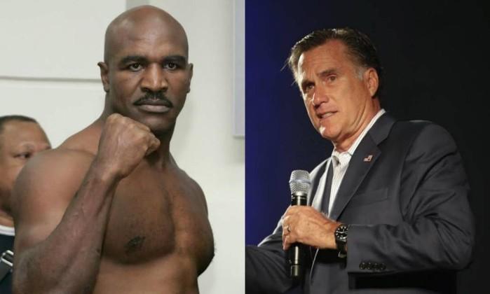 * Holyfield vai lutar contra ex-candidato à presidência dos EUA.