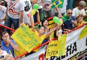 Pesquisa Datafolha revela que mais de 50% dos entrevistados consideram a atuação do Congresso é ruim ou péssima Foto: Fabio Melo / Agência O Globo