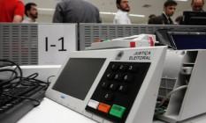 Testes públicos de urnas eletrônicas Foto: Givaldo Barbosa / O Globo