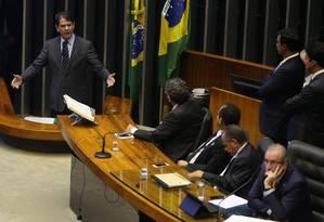 Embate entre Cid Gomes e Eduardo Cunha Foto: Ailton de Freitas / Agência O Globo