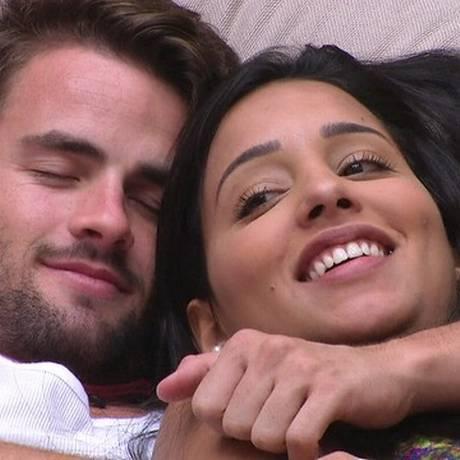 Rafael e Talita Foto: Reprodução