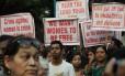 Na Índia, comunidade cristã protesta em prol das mulheres