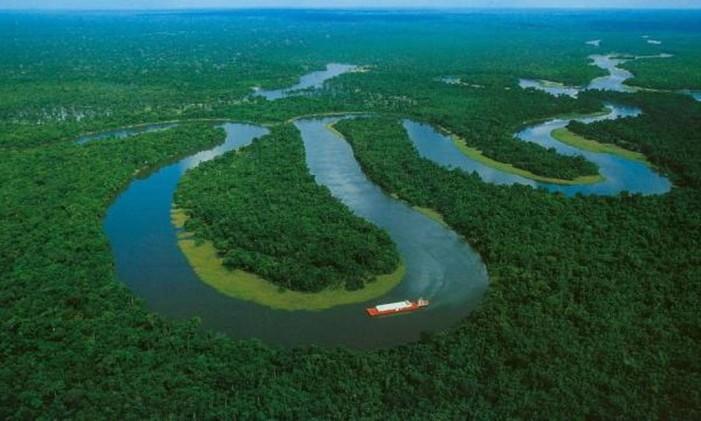 Rio Amazonas é o segundo mais extenso do mundo Foto: Agência O Globo