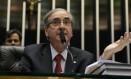 O presidente da Câmara, Eduardo Cunha no Plenário Foto: Ailton de Freitas / O Globo