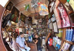 Bodega de Véio, bar que funciona dentro de um armazém Foto: Hans Von Manteuffel / Agência O Globo