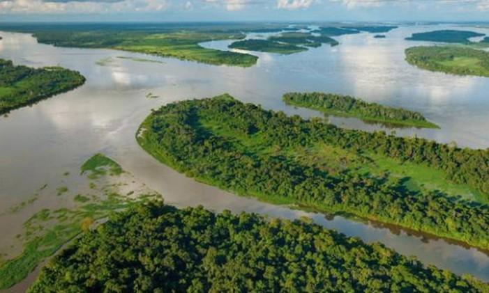 Rio Congo é de grande importância econômica para o país Foto: Divulgação / Agência O Globo