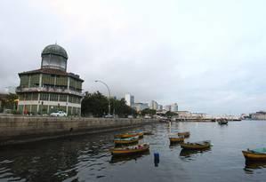 Outono chegou nesta segunda-feira. Na foto, parte da Baía de Guanabara vista da Praça Quinze Foto: Thiago Lontra / Agncia O Globo