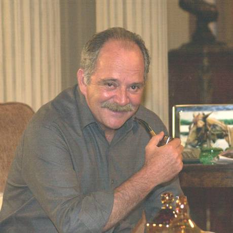 Claudio Marzo em 'Coração de Estudante' Foto: Gianne Carvalho / Foto: Arquivo O Globo/2003