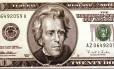 Notas de US$ 20: objetivo do W20 é trocar a imagem de Andrew Jackson pela de uma mulher