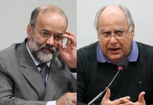 Vaccari Neto e Renato Duque são réus da Operação Lava-Jato Foto: O Globo / Montagem