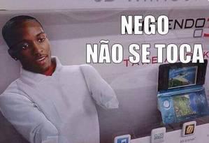 Memes sobre negros causam discórdia na internet Foto: Reprodução / Facebook