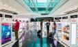 Compras no Aeroporto de Dubai