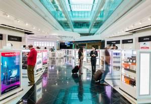 Compras no Aeroporto de Dubai Foto: Bernard Richardson / Divulgação
