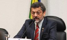 Senador Paulo Rocha (PT-PA) é o presidente da CPI para investigar contas secretas na Suíça Foto: Ailton de Freitas / Agência O Globo