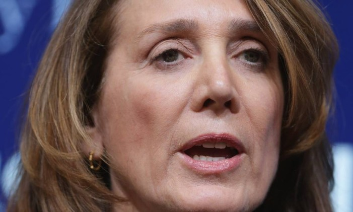 Ruth Porat foi nomeada presidente financeira do Google nesta terça-feira Foto: CHIP SOMODEVILLA / AFP