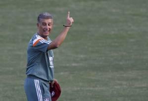 Ricardo Drubscky, técnico do Fluminense Foto: Marcos Tristão / Agência O Globo