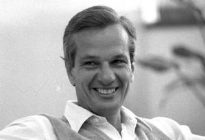 O empresário Jorge Paulo Lehmann em meados dos anos 1980 Foto: Arquivo/ 25-7-1986