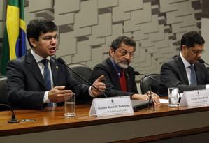 CPI do HSBC aprova requerimento para ouvir jornalistas do GLOBO e UOL Foto: Givaldo Barbosa / Agência O Globo