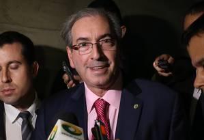 O presidente da Câmara, Eduardo Cunha (PMDB-RJ) Foto: Ailton de Freitas/24-03-2015
