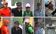 Os cinco acusados de arrastão dentro de vagão do metrô