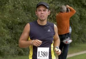 Lubitz em maratona de pilotos, em 2009: copiloto sofria de transtornos recorrentes, segundo imprensa alemã Foto: Foto-Team-Mueller / REUTERS