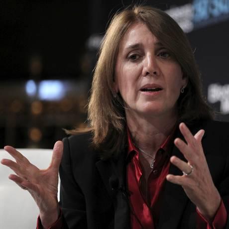 Ruth Porat: executiva trocou presidência de finanças do Morgan Stanley pela do Google Foto: Jin Lee / Bloomberg
