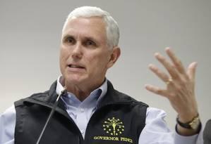 Governador Mike Pence já havia dito que sancionaria a lei Foto: Darron Cummings / AP
