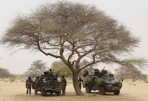 Forças especiais da Nigéria se preparam para enfrentar o Boko Haram em Diffa, Nigéria Foto: JOE PENNEY / REUTERS