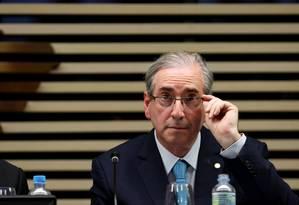 O presidente da Câmara dos Deputados, Eduardo Cunha (PMDB-RJ) Foto: Fernando Donasci / O Globo/ 26/03/2015