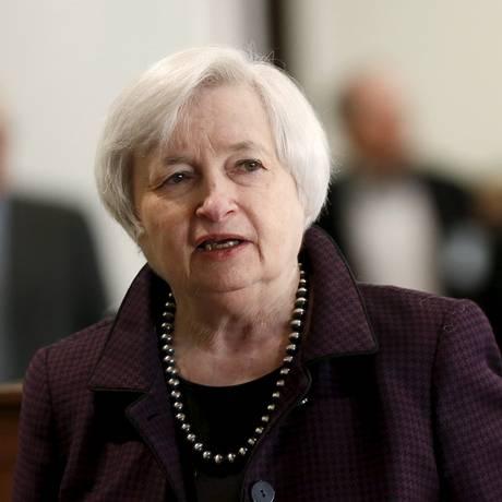 'A trajetória efetiva da política monetária vai evoluir à medida que as condições econômicas evoluírem', disse Yellen Foto: ROBERT GALBRAITH / REUTERS